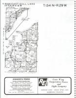 East Gull Lake, Fairview T134N-R29W, Cass County 1981